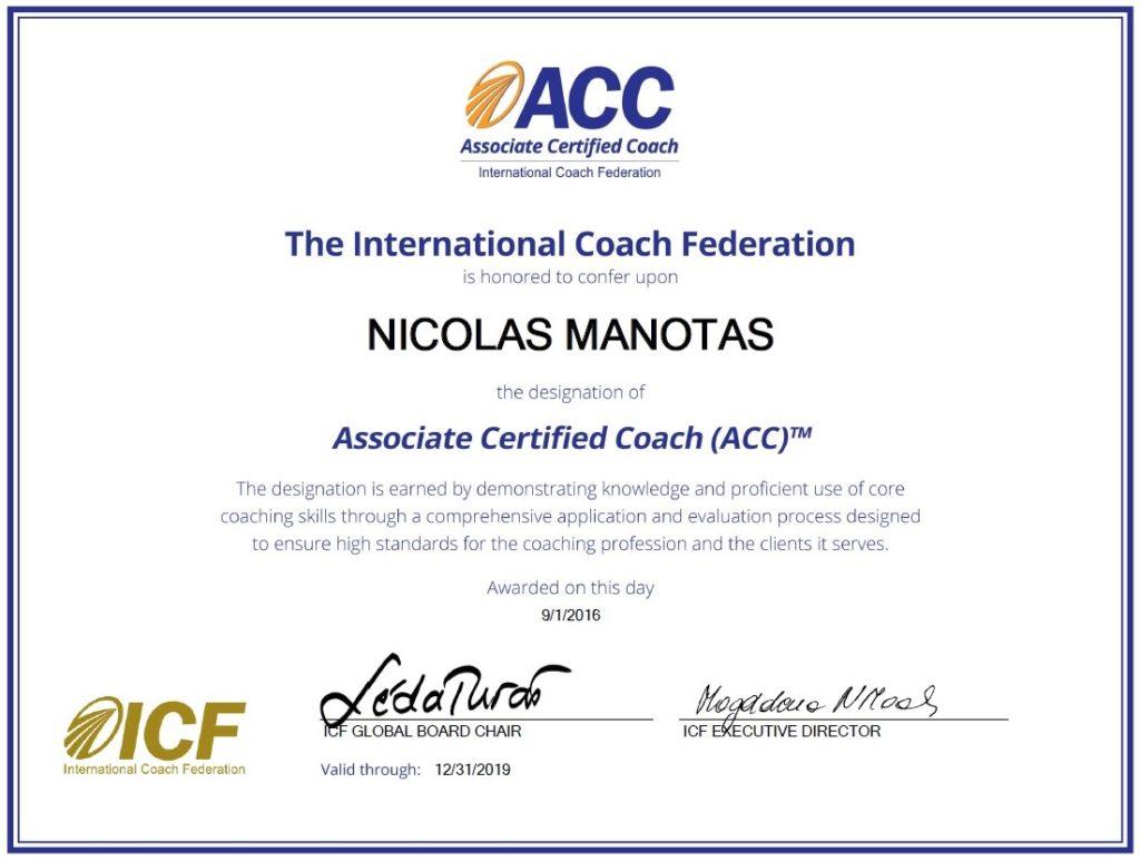 Certificacion Coach ICF